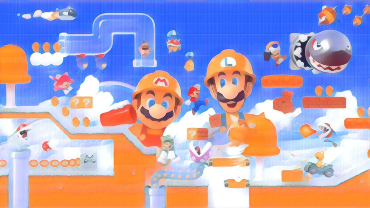 I made a Super Mario Maker 2 course on Switch, here's what I