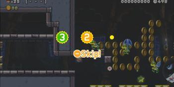 Super Mario Maker 2's Endless Challenge lets you skip levels