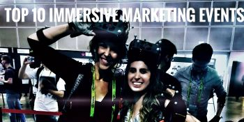 The top 10 immersive marketing and brand experience events