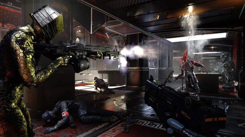 Action! Wolfenstein: Youngblood has long cut scenes but plenty of action.