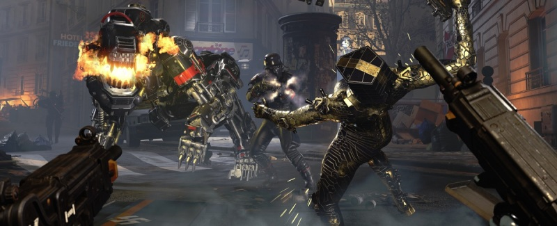 Wolfenstein: Youngblood features cool armored suits.