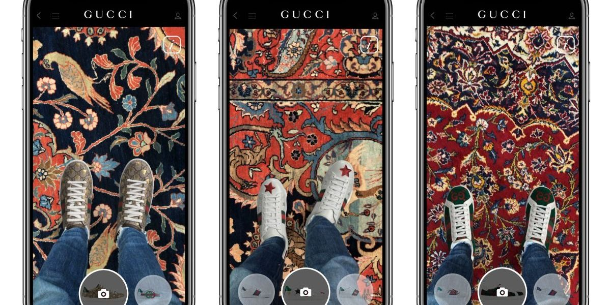 Gucci AR shoes