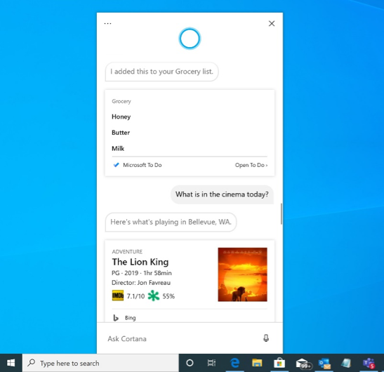 Microsoft releases new Windows 10 preview with Cortana, WSL, and