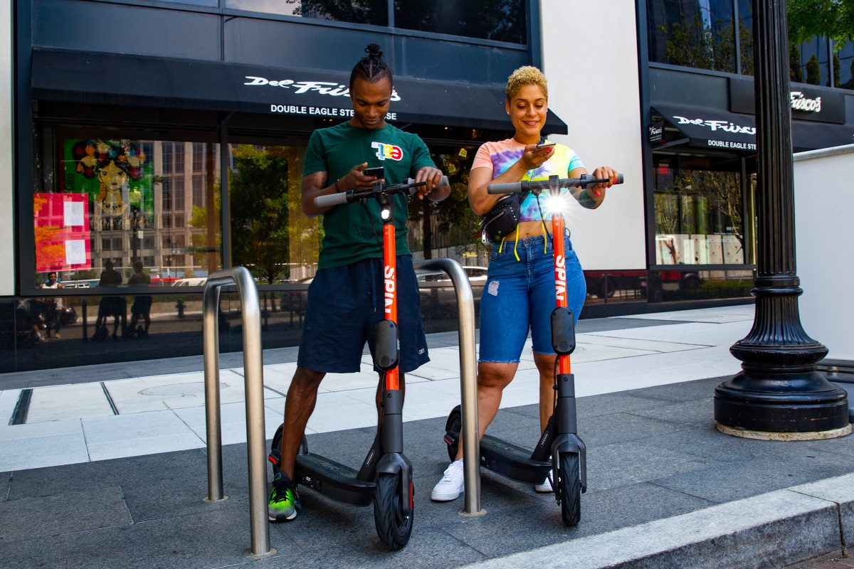 Techmeme: Ford's e-scooter rental startup Spin to launch in