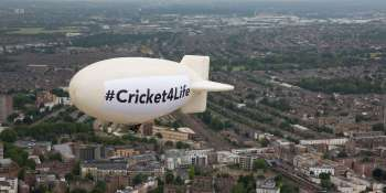 Why we flew a blimp during the finals of the ICC Cricket World Cup