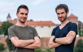Stonly founders Krzysztof Dąbrowski and Alexis Fogel