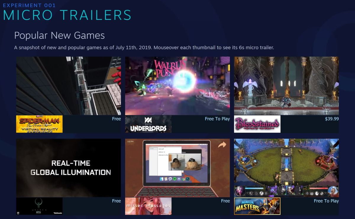 Valve Launches Steam Labs to Publicly Prototype New Store Features