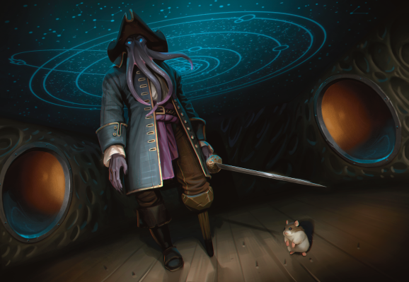N'ghathrod is an atypical Mind Flayer -- he's the captain of a Spelljammer ship.