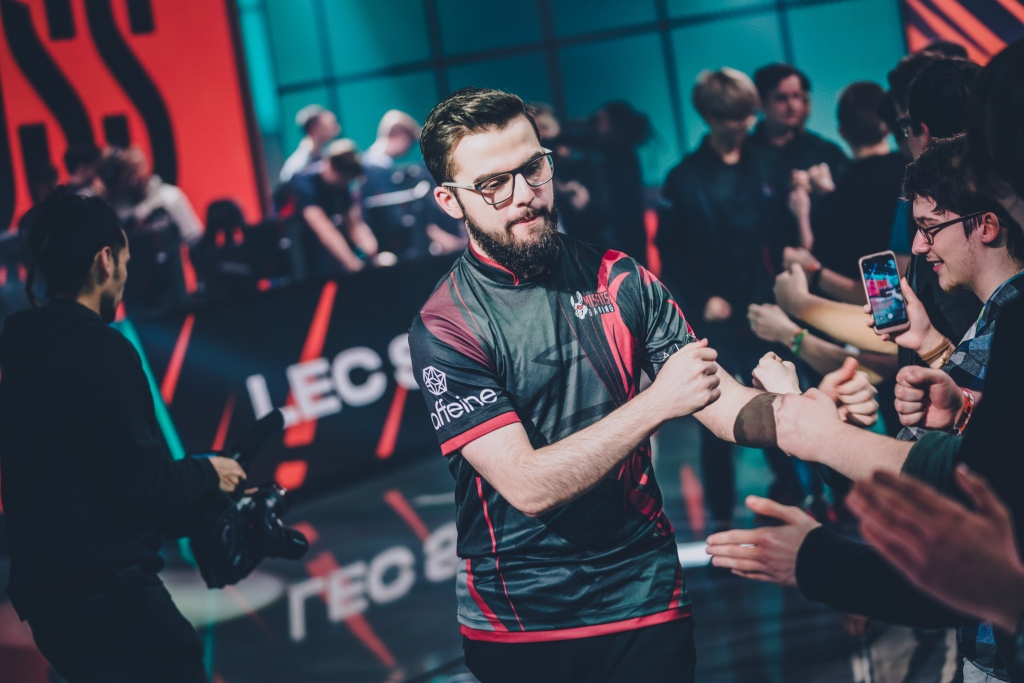 "Nubar ""Maxlore"" Sarafian reps Misfits' League of Legends EU team."