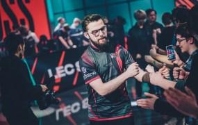 "Nubar ""Maxlore"" Sarafian reps Misfits' League of Legends EU team."