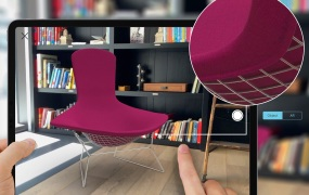 Morpholio Board AR shows off Knoll furniture in augmented reality.