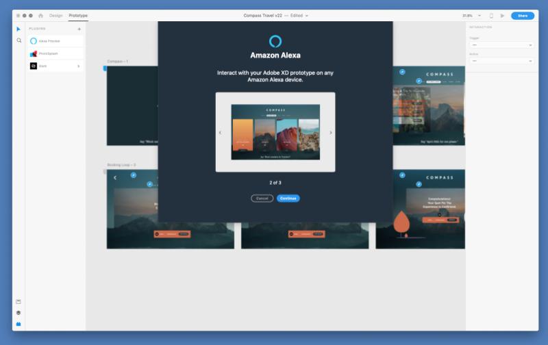 New Adobe XD tools let you export prototypes to Alexa