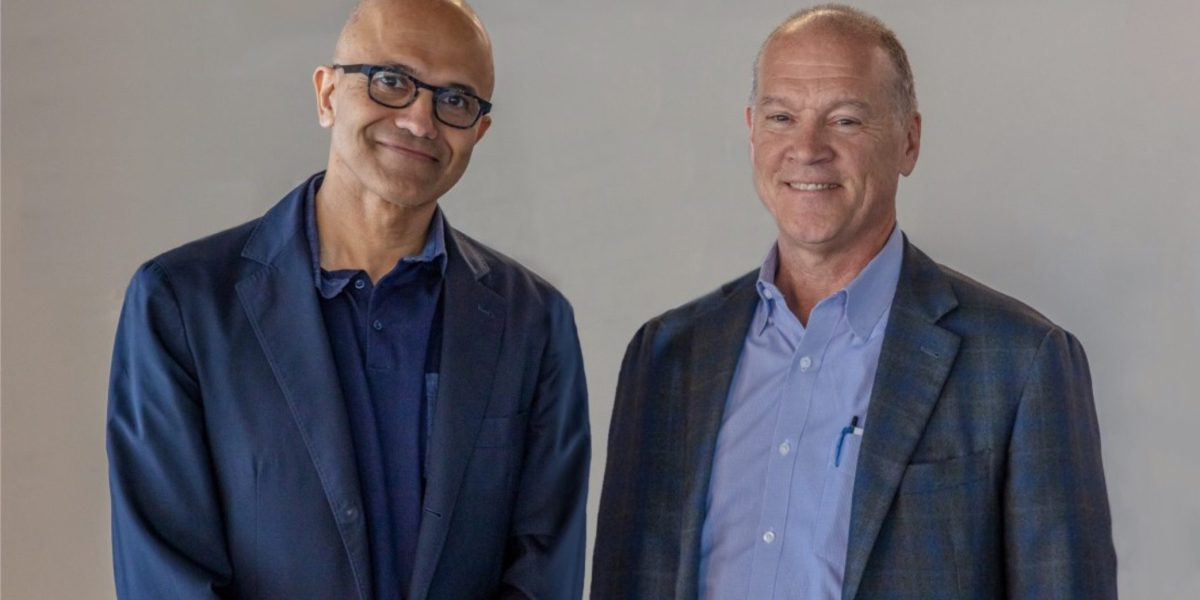 Microsoft's and AT&T's CEOs announced a strategic collaboration around 5G, AI, and more.