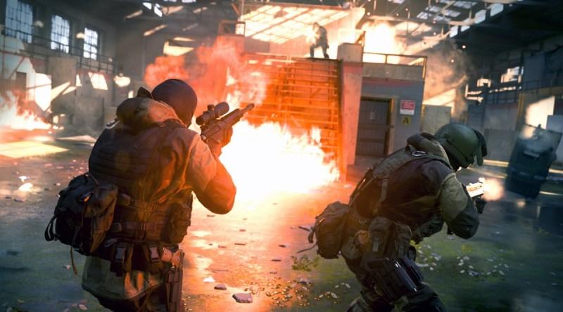 Gunfight mode in Modern Warfare.