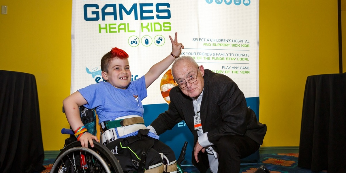 Extra Life helps save kids through the power of play.