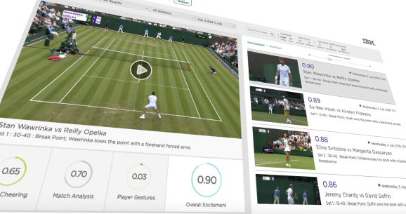 IBM's Watson helps Wimbledon collate highlights