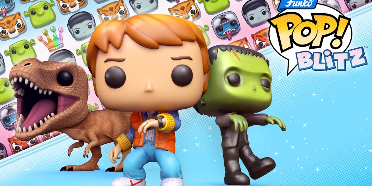 Funko is putting Universal characters in a match-3 game.