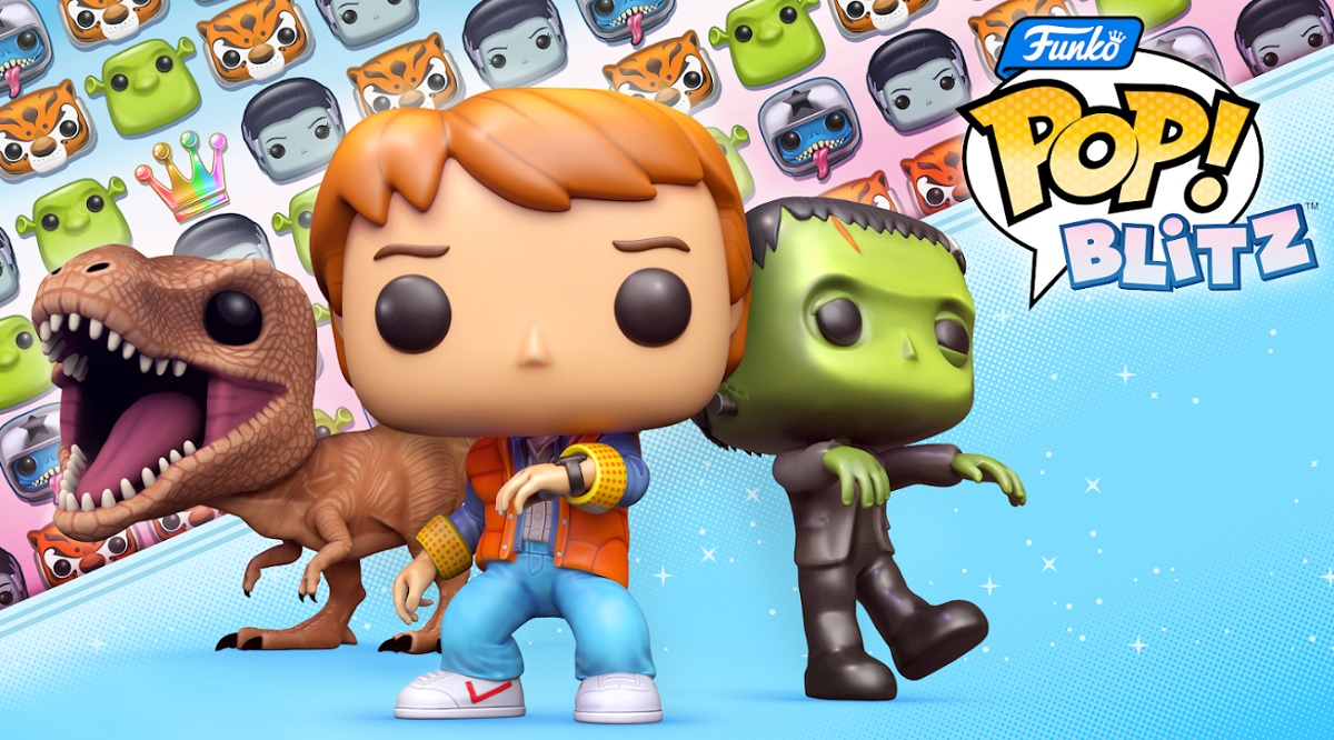 photo of Funko Pop! Blitz takes Universal franchises to match-3 mobile game image