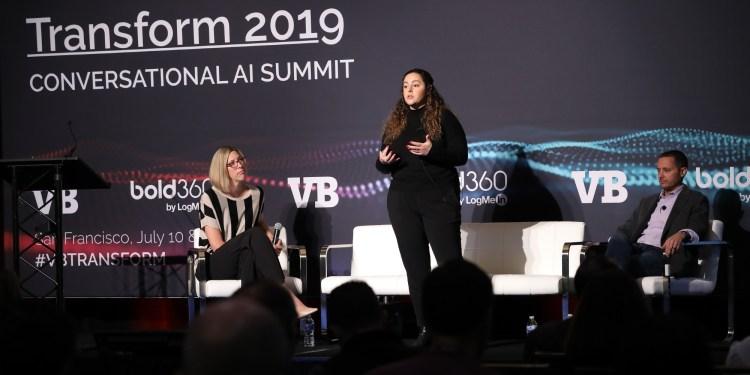 Jessica Lachs and Chris Hansen at Transform 2019