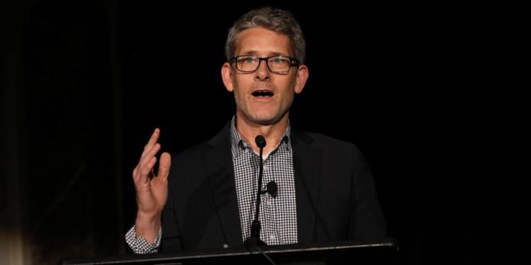 VentureBeat founder Matt Marshall at the AI Innovation Awards ceremony held July 12, 2019 in San Francisco