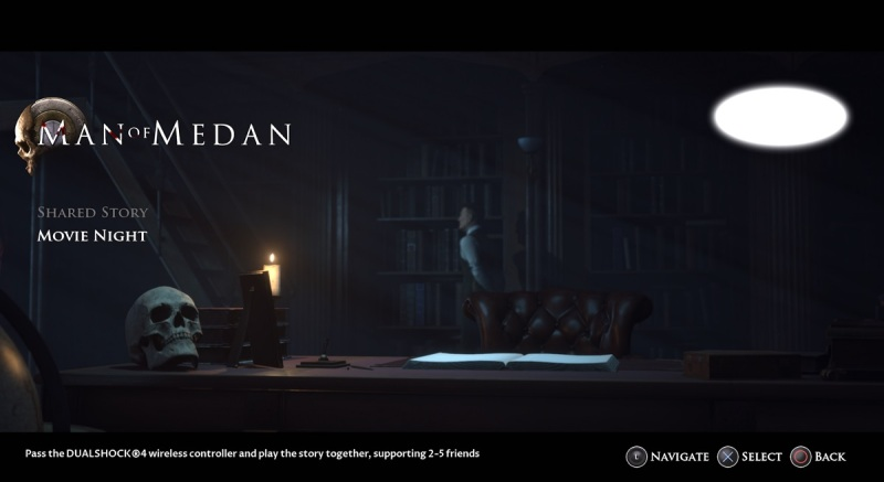 In movie night mode, 5 players can play Man of Medan in offline mode.