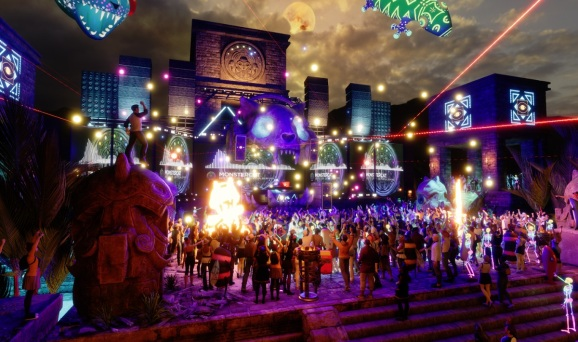Linden Lab and Monstercat are mixing live music and VR.