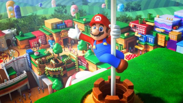 Super Nintendo World.
