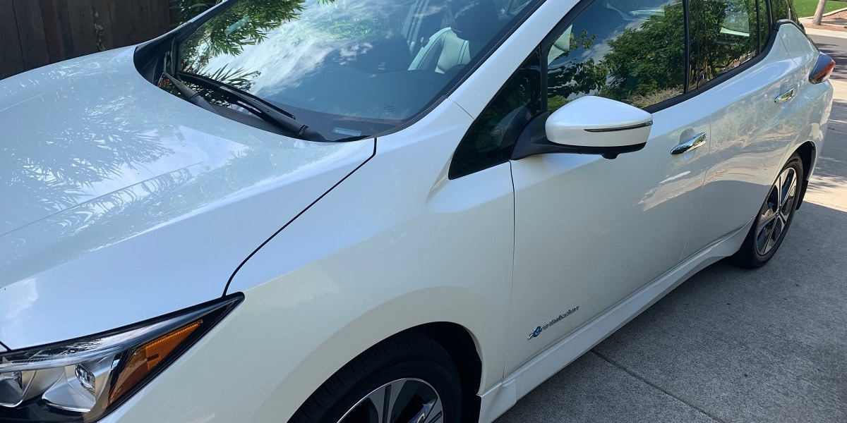 The Nissan Leaf Plus sells for a starting price of $36,550.