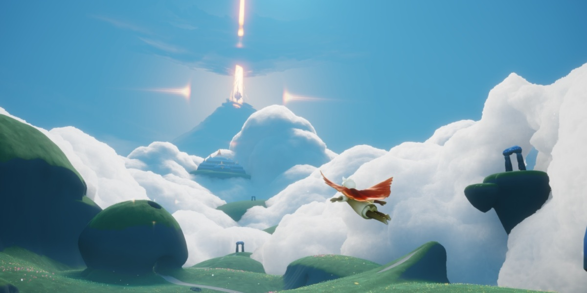 Sky lets you soar in the clouds almost immediately.