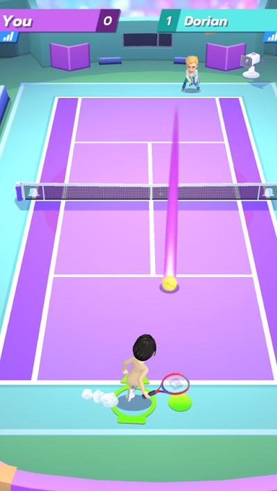 Snapchat's Bitmoji Tennis