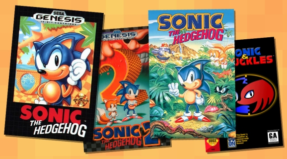Sonic box art.