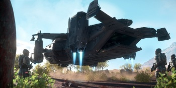 Hover ships are a feature of Star Citizen alpha 3.6.