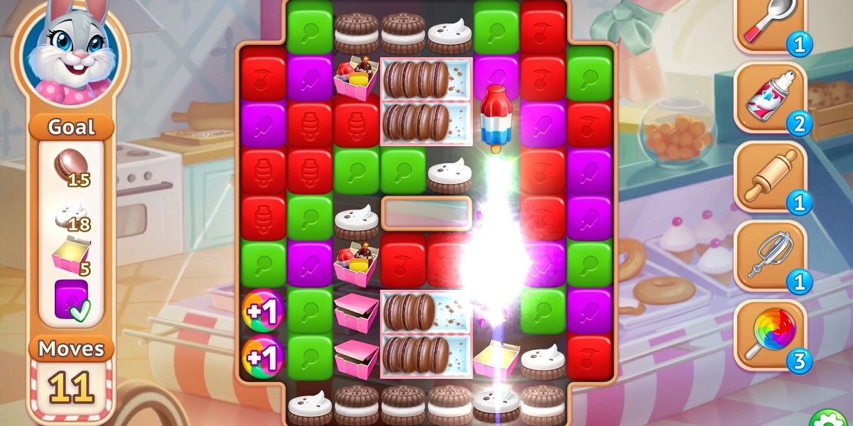 Sweet Escapes is the latest casual puzzle game.
