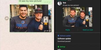 Symantec found a flaw in WhatsApp and Telegram.