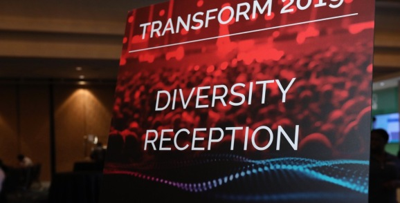 VB transform diversity reception