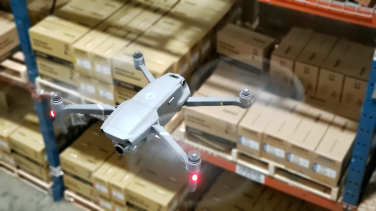 AI startup Gather uses drones and computer vision for warehouse inventory