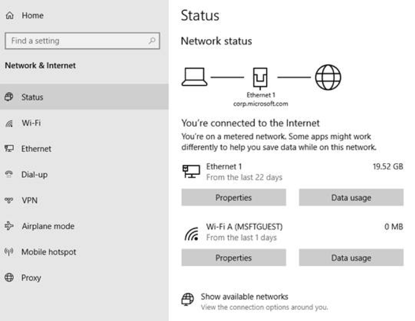 Microsoft releases new Windows 10 preview with Network