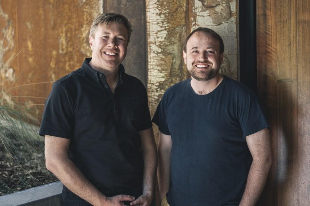 6D.ai founders Matt Miesnieks (left) and Victor Prisacariu.