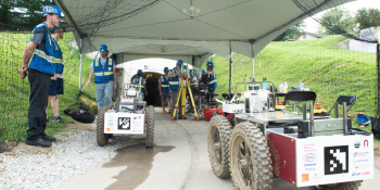 Carnegie Mellon and Oregon State team wins first leg of DARPA Subterranean Challenge robot competition