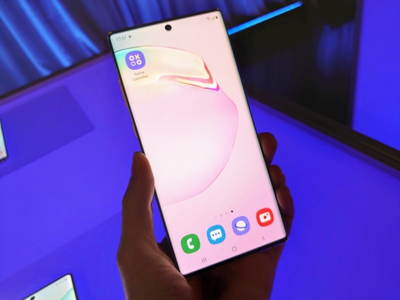 This is the Samsung Galaxy Note10, Note10+, and Note10+ 5G