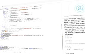 DeepCode dashboard