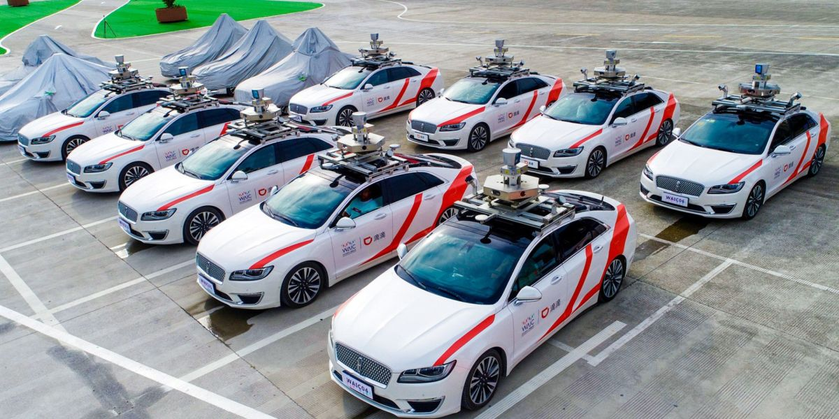 China's Didi is piloting a robo-taxi service in Shanghai