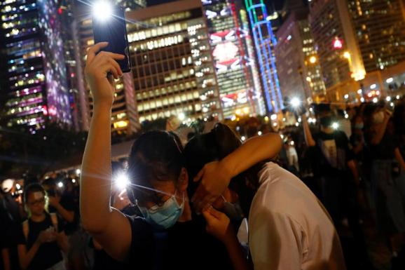 China has turned to social media platforms to spread disinformation about the Hong Kong protests.