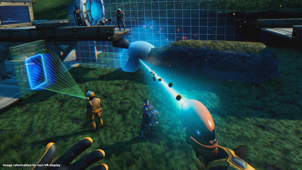 No Man's Sky: Beyond VR is a different beast.