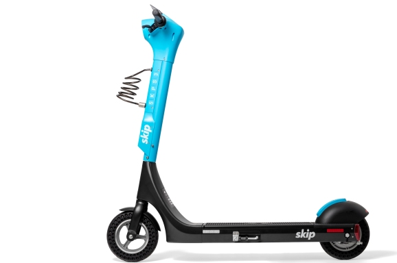 Skip launches rugged S3 electric scooter with swappable battery
