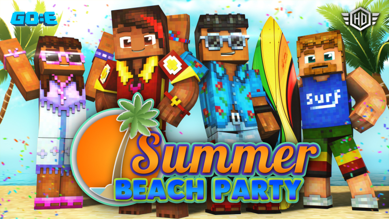 Super Beach Party contributes to a big month on the Minecraft Marketplace.