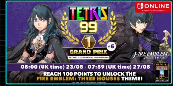 Tetris 99's weekend event is a Fire Emblem: Three Houses crossover