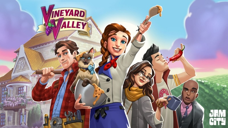 Vineyard Valley is a new mobile game from Jam City.