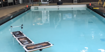 MIT's 'roboats' autonomously form bridges across bodies of water
