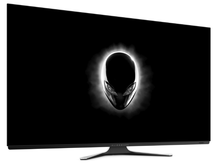 Alienware's 55-inch gaming monitor.